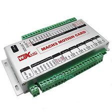 6 Axis Mach3 USB 400KHz CNC Motion Control Card A B C X Y Z Axis Breakout Board