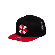 Official RESIDENT EVIL Umbrella Corp Baseball Cap Snapback Hat Gaming Gift