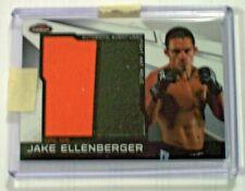 2011 Topps UFC Finest Jumbo 2 Color Fight Mat Relic Jake Ellenberger UFC 108