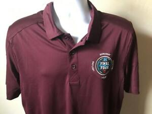 2021 Final Four NCAA Basketball Baylor Gonzaga Men's C&B Prospect Polo Size M