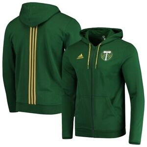 Adidas MLS Portland Timbers Travel Jacket Green/Gold