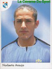 057 NORBERTO ARAUJO ARGENTINA SPORTING CRISTAL STICKER PRIMERA DIV 2006 PANINI