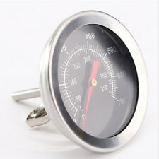 Stainless Steel BBQ Barbecue Smoker Grill Temperature Thermometer Gauge 50℃~350℃
