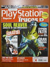Guías Soul Reaver,Syphon Filter,Ape Escape,Gran Turismo,C&C Red Alert, PS1 DC PC