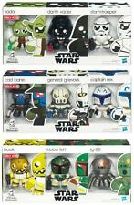 Star Wars Mini Muggs Exclusive 9 Figures Set Yoda Vader Boba Fett StormTrooper