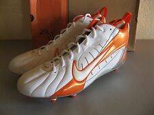 Nike Mens Super Speed D 3/4 Football Cleats 16 White Orange 313287-181 Pro Model