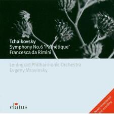 Tchaikovsky: Symphony No. 6 'Pathetique'; Francesca Da Rimini Evgeny Mravinsky