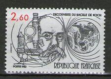 TIMBRE 2246 NEUF XX LUXE - DECOUVERTE DU BACILLE DE KOCH
