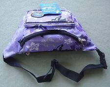 Island Spirit Light Purple Fanny Pack Travel Hiking Waist Belt Bag Pouch EX-1002
