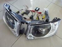 Nissan Patrol GU4 - 8 (+late UTEs)Black, Twin Halos, HID Projectors + Devils Eye