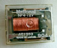 10 x National NF-Relay NF4 - 12V Cube Relays 15 Pin