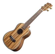 Snail Ukc-480 Zebrawood Series Concert Ukulele Aquila Strings