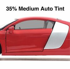 CAR WINDOW TINT FILM - MEDIUM BLACK SMOKE 35% AUTO TINTING - 50cm Roll Width