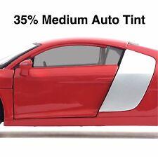 CAR WINDOW TINT FILM - MEDIUM BLACK SMOKE 35% AUTO TINTING - 50cm Roll Width