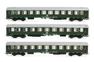 "Rivarossi H0 HR4307,  3tlg. Wagenset ""Pannonia-Express"" der DR, Ep. IV _ NEU"