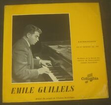 Rachmaninof concerto No. 3 Emil Gilels / Cluytens  Columbia FCX 432 lp