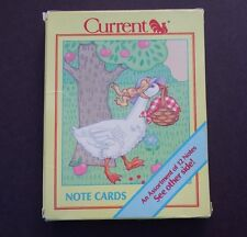 Vintage Current Country Geese Note Cards