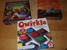 QWIRKLE + ZAUBERLEHRLING GESUCHT + DIXIT Familien Spiele Mattel Schmidt Konvolut