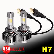 2Pcs H7 LED Conversion Headlight Kit 180W 18000LM Light Bulb HID White 6000K