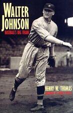 Walter Johnson: Baseball's Big Train (Paperback or Softback)