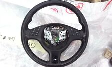 Bmw E46 M SPORT Black Leather Multifunction Steering Wheel ,01-06,Excellent