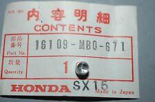 Honda NOS P/N 16109-MB0-671 Carb Limiter Cap V65 VF1100, VF500 VF750, Goldwing +