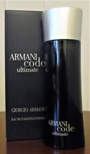 Armani Code Ultimate Giorgio Armani 2.5 Oz / 75 Ml Edt Spy Cologne Men Discontin