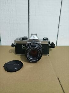 Pentax KX Asahi 35mm SLR Camera & Pentax-M SMC 1:1.7 50mm Lens