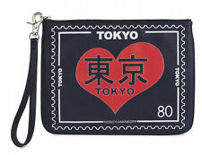 Rebecca Minkoff TRAVEL POUCH Wristlet Leather Tokyo
