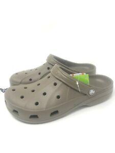 Crocs Ralen Clogs Mens  Walnut Brown Roomy Fit 15907-267 Size 11