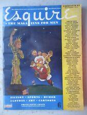 Esquire Magazine - December 1944, XMAS, VARGA Pinups - TWO