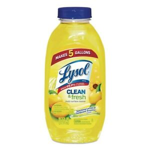 Lysol Concentrated Lemon Sunflower multi-surface cleaner 10.75oz Makes 5 Gallon