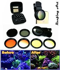 Reefing Art Coral Lens Professional Photography 6 Lenses Kit for frag rack coral