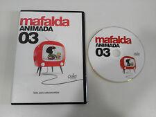 MAFALDA ANIMADA VOLUMEN 3 - DVD SLIM QUINO ESPAÑOL
