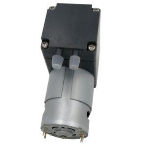 80Kpa Mini Vacuum Pump DC 12V Small Vacuum Suction Pump Diaphragm Pump 12L / Min