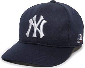 MLB New York Yankees OC Sports Proflex Q3 Flex FitHat Cap Navy Adult Men's M/L