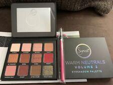 Sigma Beauty Warm Neutrals Eyeshadow Palette Volume 2 w/ Free Sigma E05 brush