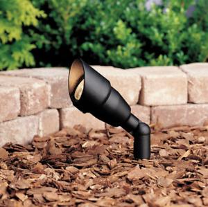 Kichler 15374-BKT Outdoor Path Garden Mini Accent Light Landscape Black 12V/50W