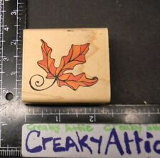 MAPLE LEAF RUBBER STAMP UPTOWN HOLLY POND HILL 103676 ALICIA TORMEY