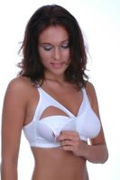BENEFIT Mama Luxury Super Soft Comfortable 100% Cotton Nursing Bra / Feeding Bra