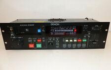 Denon DN-M2000R MD Recorder Player DJ Pitch Control schwarz