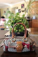 COACH  TWEED Soho Satchel Bag/Purse 8F03 BAG  (P900)