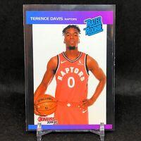 2019-20 Terence Davis Panini Retro Rated Rookie Card RC 1989 Donruss Raptors SP