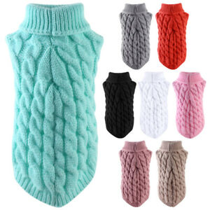 Newest Pets Sweater Winter Autumn Warm knitted Clothes For Cats Mini Dogs Wear