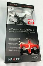 New In Box Propel Rc Atom 1.0 Micro Drone, Black - Indoor / Outdoor Quadrocopter