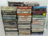 49 Different 80's & Classic Rock / Metal Music Cassette Tape Collection