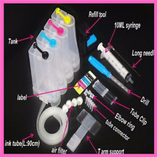 Ink Tank Replacement Printer Drill Supply System Universal Color Kit Accessories