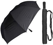 "56"" Arc Collapsible Windbuster Golf Auto-Open Umbrella - RainStoppers Rain/Shine"