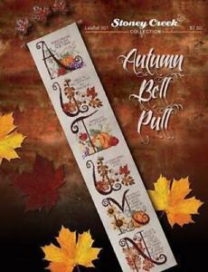 Autumn Bell Pull LFT301 by Stoney Creek cross stitch pattern