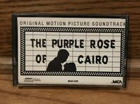 The Purple Rose of Cairo - OST - Soundtrack (MCA) Dick Hyman - Cassette ~ RARE